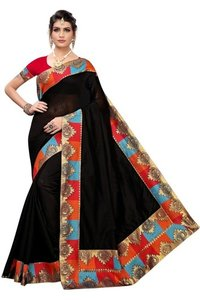 chanderi cotton designer saree