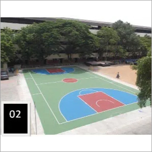 Basketball Court Cushion Flooring