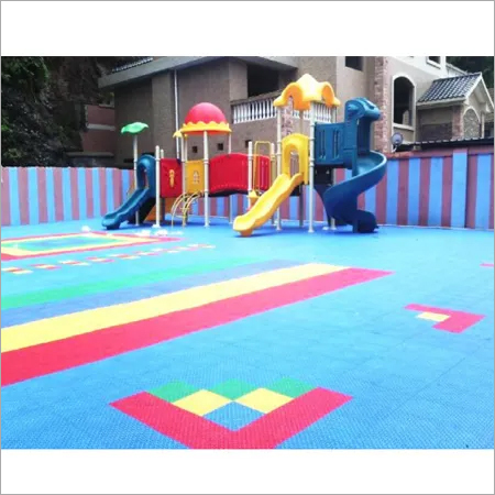 Rubber Playground Flooring