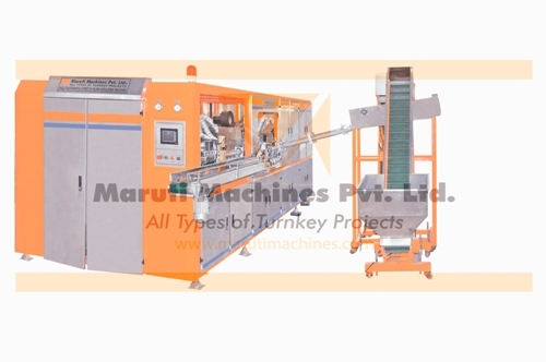 Maruti Fully Auto Rotary 6 cavity blow molding machine