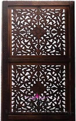 indian design wooden room partition