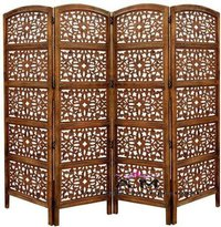 hand made room divider partition