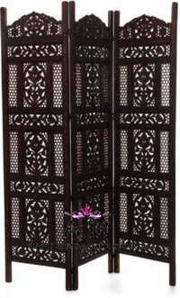 black color design room divider