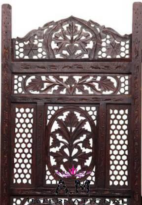 black color design room divider