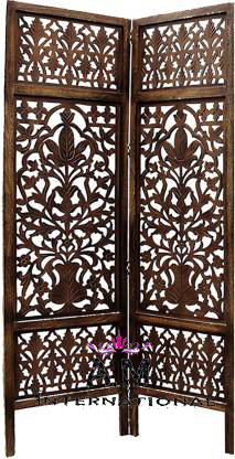 carved wooden room partition