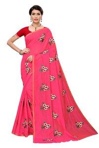chandri cottan printed saree