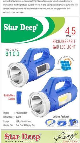 7 Watt SMD Solar LED Torch