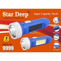 one watt solar led torch