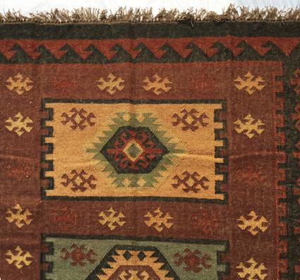 Wool Jute Kilim Dhurrie