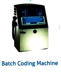 BATCH CODING MACHINE FOR PET BOTTLE