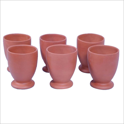 Terracotta Kullad Glass Set