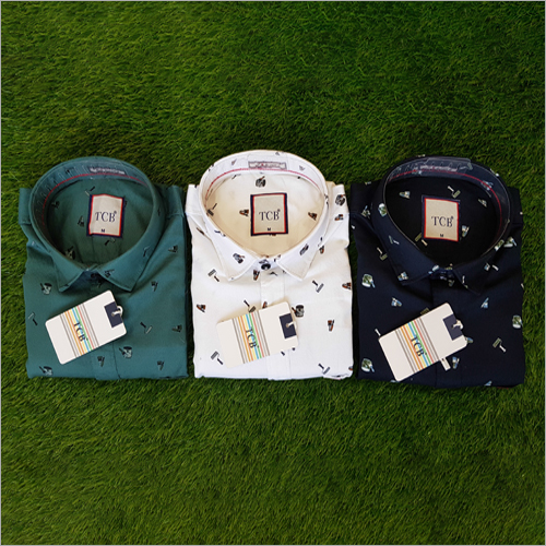 Mens Regular Fit Casual Shirt