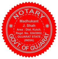 NOTARY SEAL STICKER