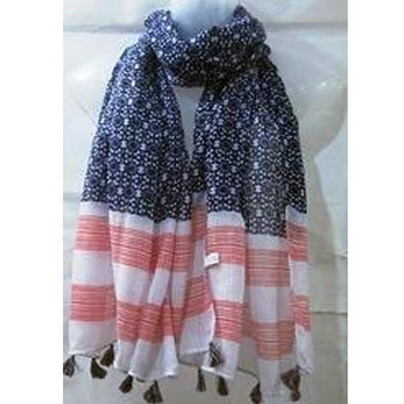 Casual Wear Cotton Printed Scarves
