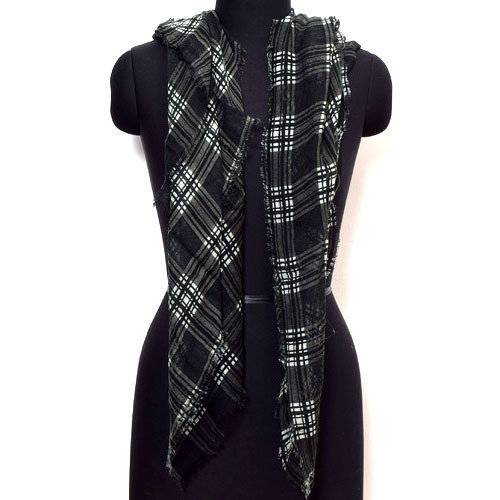 Designer Black Scarves