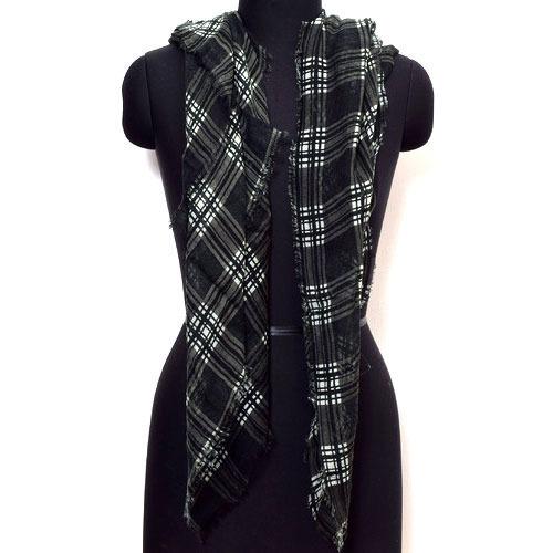 Designer Black Scarves