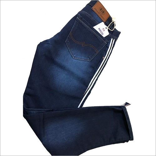 Mens Dark Blue Jeans