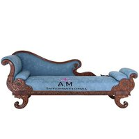 royal handcrafted wooden couch