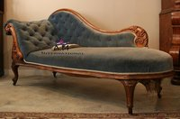 teakwood handmade couch