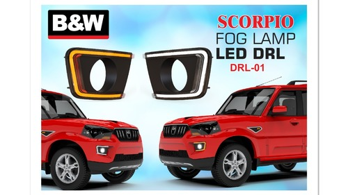 SCORPIO FOG LAMP LED DRL