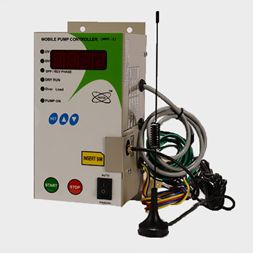 Single Phase Mobile Pump Controller With Display