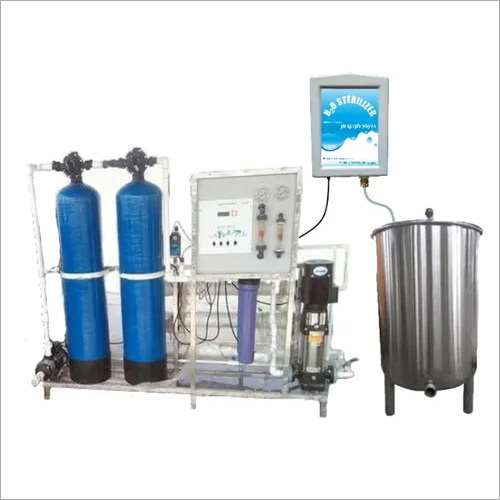 750 LPH RO Plant With H2O Sterilizer