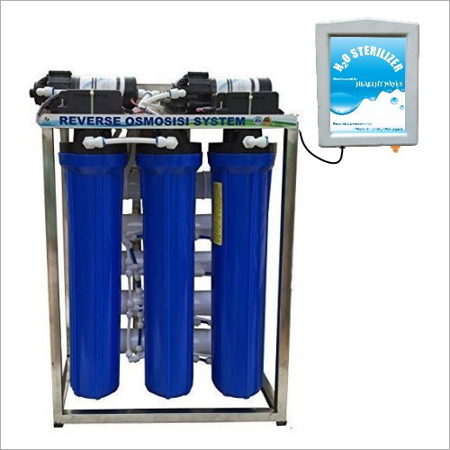 50 LPH RO Purifier With H2O Sterilizer