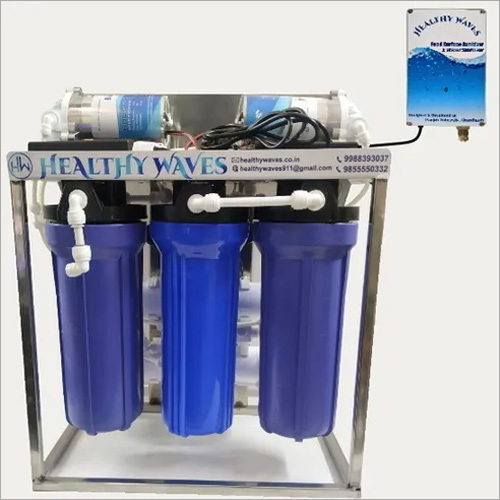 25 LPH RO Purifier With H2O Sterilizer