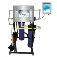 100 LPH RO Purifier with H2O Sterilizer
