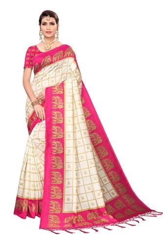 new kamalkari maysor  silk saree