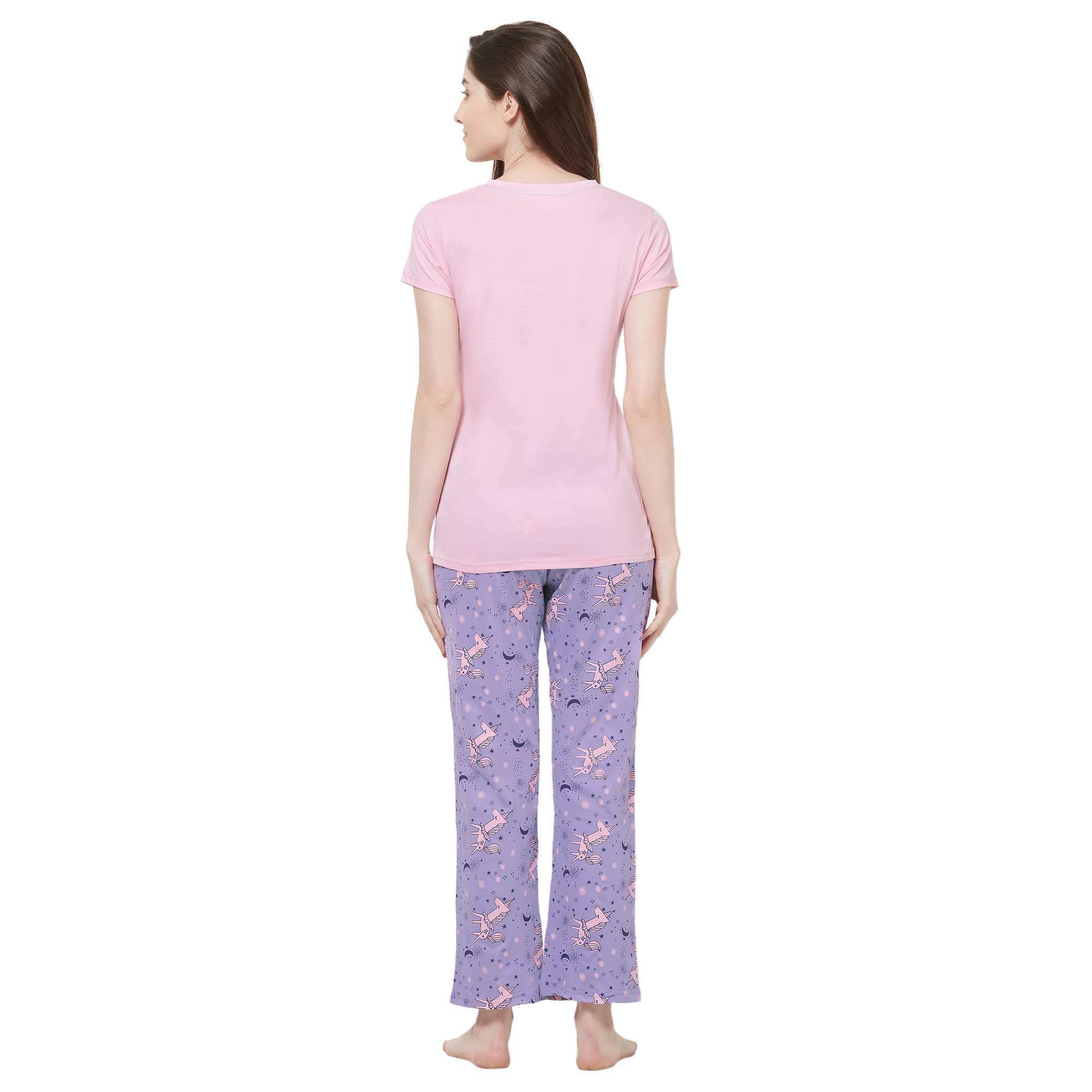 Evolove Womens Pajama T Shirt Sets (EVO23)
