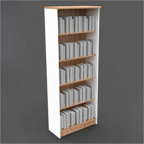 Five Shelves Single Side Library Rack