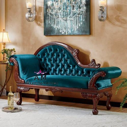 classic design teakwood couch