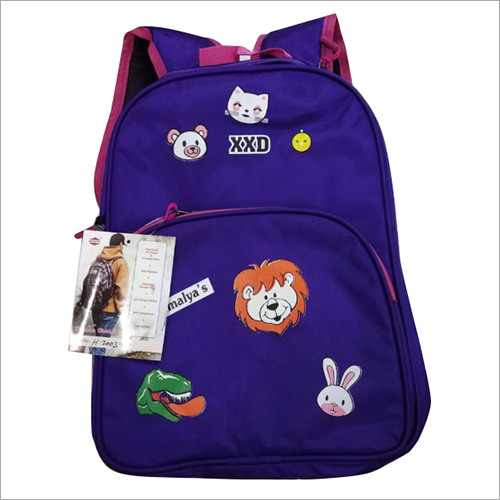 Kids Polyester School Backpack