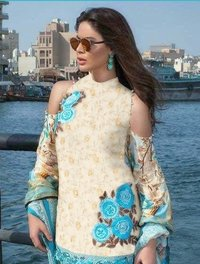 Heavy Embroidery Work Kurti
