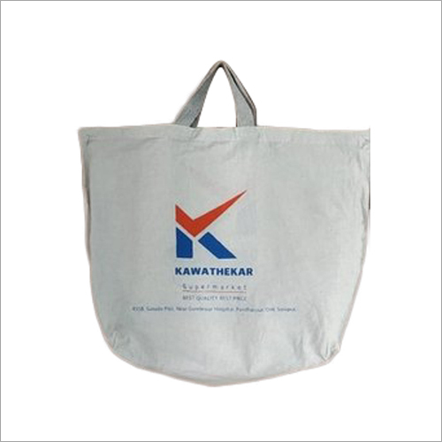 Printed Loop Handle Cloth Bag