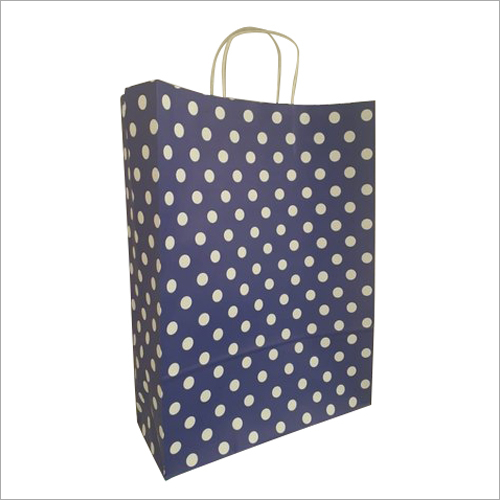 Dot Printed Paper Bag