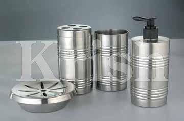 Ring design Bathroom Set - 4 Pcs
