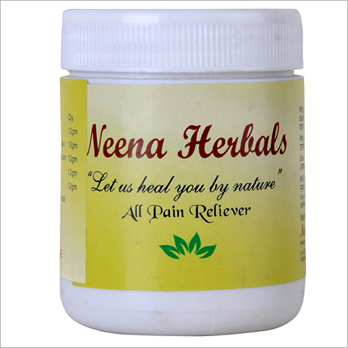 All Pain Relever Herbal Medicine