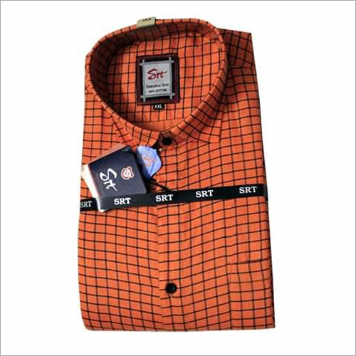 Mens Small Check Shirt