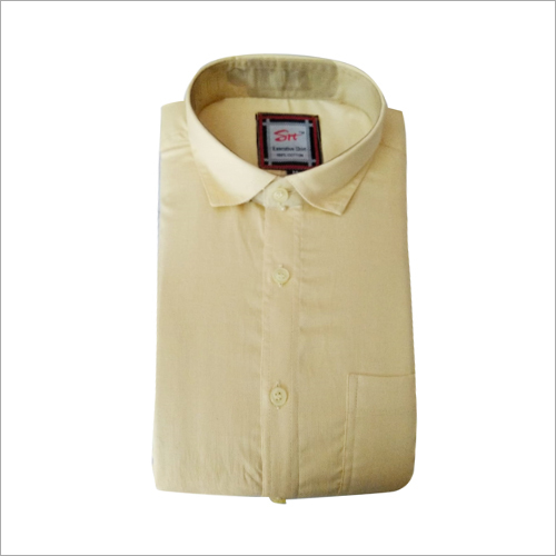 Mens Regular Fit Formal Plain Shirt
