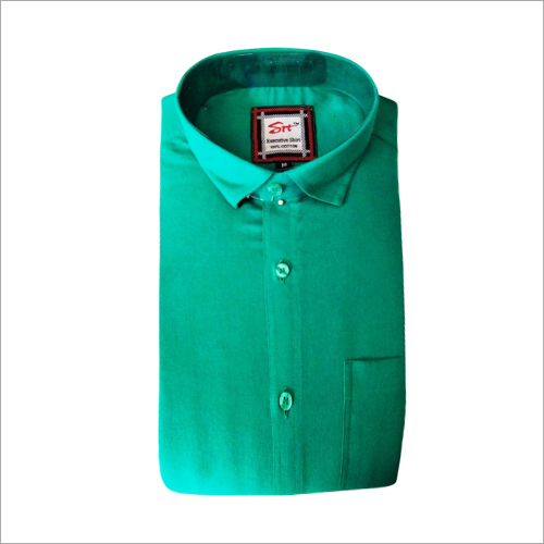 Mens Office Wear Plain Shirt