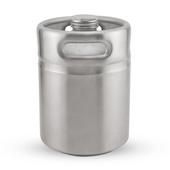 2 Litre Mini Keg - Stainless Steel