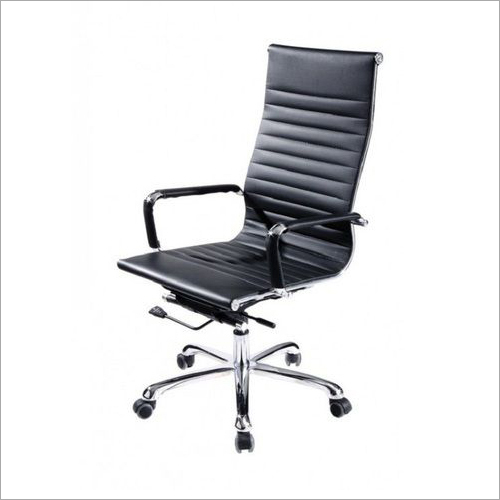High Black Office Chair