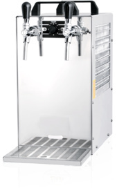 40 ltr-hr 2 Tap Over Counter Beer Cooler
