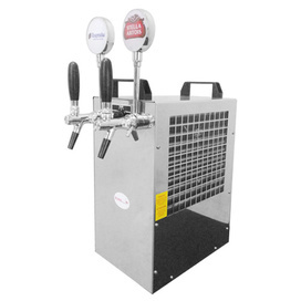 Over Counter 2 Tap Beer Cooler
