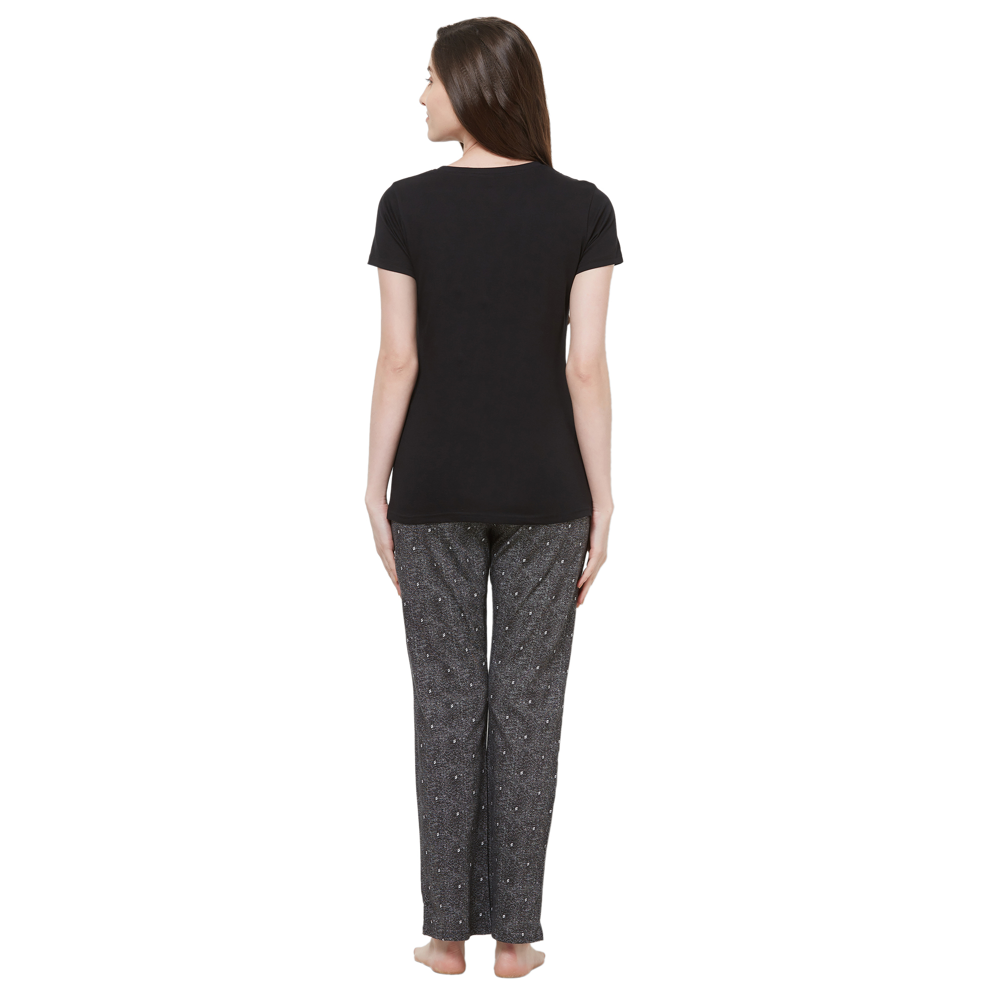 Evolove Womens Pajama T-Shirt Sets (EVO25)