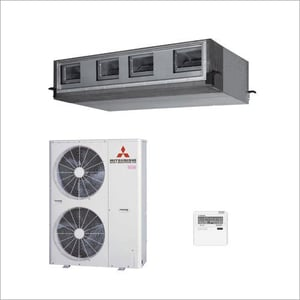 Mitsubishi R410A Ductable AC