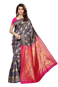 banarasi cotten silk saree