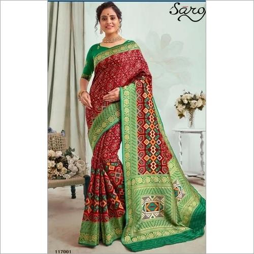 Elegant Patola silk saree